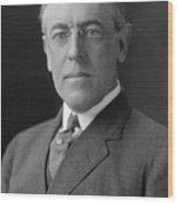 President Woodrow Wilson Wood Print