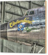 Presidential Aircraft - Lockheed Vc-121e Columbine Wood Print