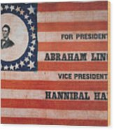 Presidential Campaign, Wood Print