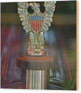 Presidential Hood Ornament Wood Print