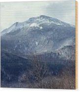 Presidential Mountain View Wood Print