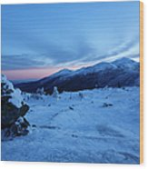 Presidential Range - White Mountains  New Hampshire Usa Wood Print