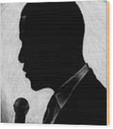 Presidential Silhouette Wood Print by Jeff Stroman