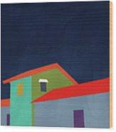 Presidio- Art By Linda Woods Wood Print