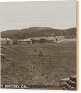 Presidio Of Monterey, Cal. Circa 1910 Wood Print