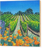 Presidio Vineyard Wood Print