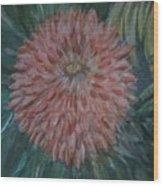 Pretty Dahlia Wood Print