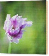 Pretty Flower Wood Print