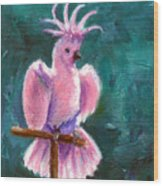 Pretty In Pink Aceo Wood Print