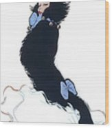Pretty Kitty Wood Print