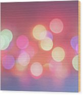 Pretty Pastels Abstract Wood Print