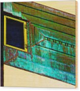 Price Tower Deco Wood Print