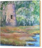 Price's Creek Light Wood Print