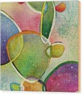Prickly Pizazz 2 Wood Print