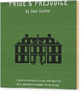 Pride And Prejudice Greatest Books Ever Series 016 Wood Print