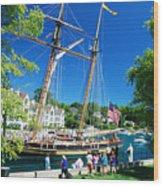 Pride Of Baltimore No. 1 Wood Print