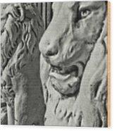 Pride Of Lions Wood Print