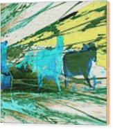 Pride Of Pegasus Wood Print