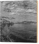 Priest River Panorama 2 Wood Print