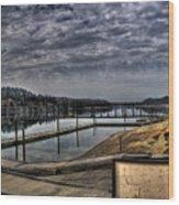 Priest River Panorama 6 Wood Print