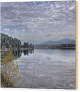 Priest River Panorama 8 Wood Print