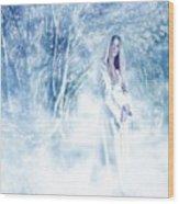 Priestess Wood Print