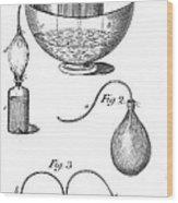 Priestleys Gas Manipulating Apparatus Wood Print