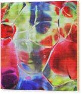 Glassy Art Wood Print