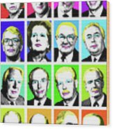 'prime Ministers Question Time X 16' Wood Print
