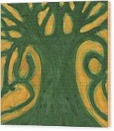 Primitive Tree Wood Print