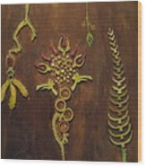 Primordial Eden Wood Print