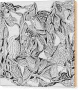 Primordial Wood Print