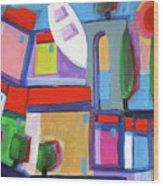 Primorski Pejsaz  14 Wood Print