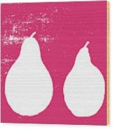 Primrose Pears Wood Print