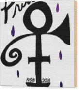 Prince 1958-2016 Wood Print
