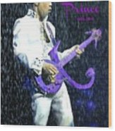 Prince 1958 - 2016 Wood Print