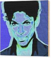 Prince Blue Nixo Wood Print