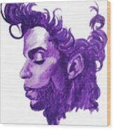 Prince-he Wasn't Finished Wood Print