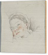 Prince Hoare The Baby Wood Print