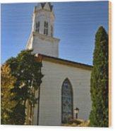 Prince Of Peace Catholic Church Madison Wood Print