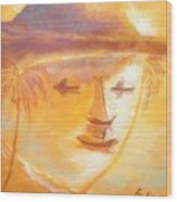Prince Rupert's Ghost Wood Print