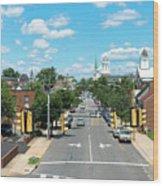 Princess Anne Avenue Fredericksburg Wood Print