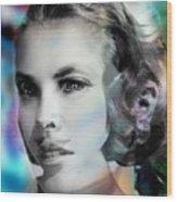 Princess Claudia Vinci Wood Print