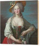 Princess Elisabeth Of France Wood Print