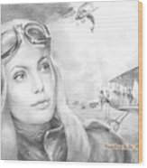 Princess Eugenie M Shakhovskaya Historic Czar Russia Featured By Angelina Jolie Wood Print