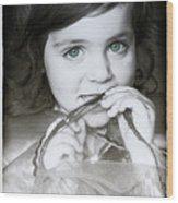 Princess Xanthe Wood Print