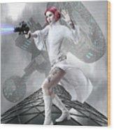 Princess Leia Wood Print