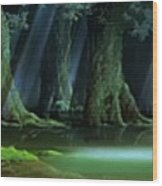 Princess Mononoke Wood Print
