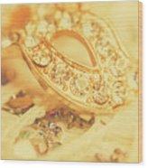 Princess Pendant Wood Print