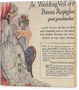 Princess Rospigliosi Ephemera Vintage Wood Print
